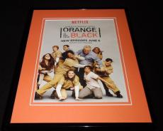Orange is the New Black 2014 Netflix 11x14 Framed ORIGINAL Advertisement
