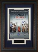 Orange Is The New Black Cast Signed 11x17 Framed Display