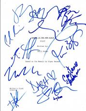ORANGE IS THE NEW BLACK Full Cast Signed Autographed Pilot Script by 12 COA VD