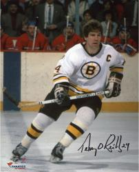 """Terry O'Reilly Boston Bruins Autographed 8"""" x 10"""" White Vertical Photograph"""