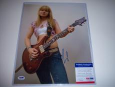 ORIANTHI Panagaris Signed Guitar- Sportsmemorabilia.com Authenticated
