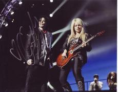 "Orianthi signed *MICHAEL JACKSON GUITARIST* 8X10 W/COA ""According to You"" #2"