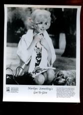 Original 1990 Marilyn Monroe Somethings Got To Give 8 X 10 Publicity Photo