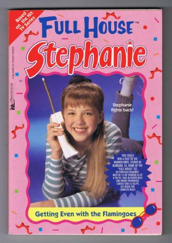 ORIGINAL 1997 Full House Stephanie Tanner Getting Even With Flamingoes Book