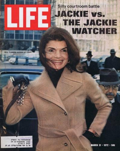 ORIGINAL Life Magazine March 31 1972 Jackie Kennedy Onassis