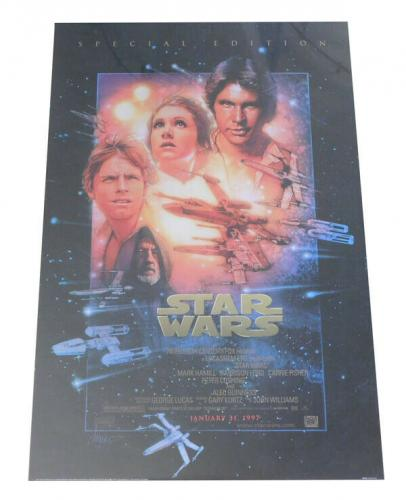 Original reproduction STAR WARS Movie Poster PTW795 Litho U.S.A.