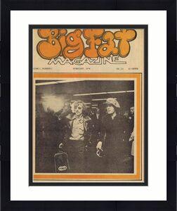 ORIGINAL Vintage 1970 Big Fat Magazine Vol 1 #1 Mick Jagger Beach Boys