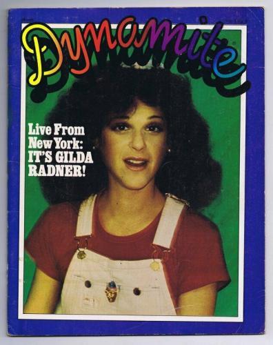 ORIGINAL Vintage 1980 Dynamite Magazine #70 Gilda Radner