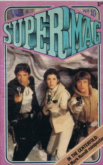 ORIGINAL Vintage 1980 SuperMag Magazine Vol 4 #10 Star Wars Mark Hamill
