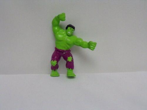 "ORIGINAL Vintage 1990 Applause Marvel Incredible Hulk 3"" PVC Action Figure RARE"