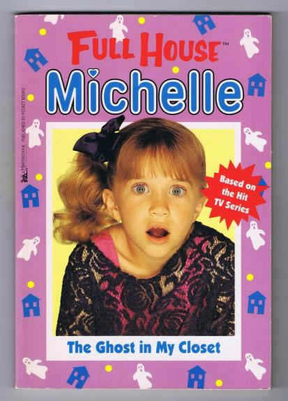 ORIGINAL Vintage 1995 Full House Michelle Tanner Ghost in My Closet Book