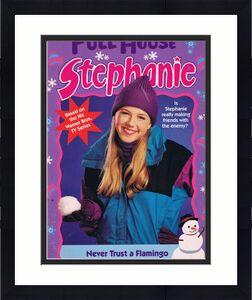 ORIGINAL Vintage 1997 Full House Stephanie Tanner Never Trust a Flamingo Book