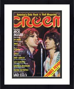 ORIGINAL Vintage August 1975 Creem Magazine Rolling Stones Mick Jagger