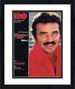 ORIGINAL Vintage August 1982 HBO Magazine Cannonball Run Burt Reynolds Tarzan