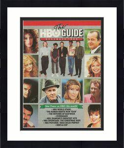 ORIGINAL Vintage Dec 1988 HBO Guide Magazine Neil Diamond Wall Street