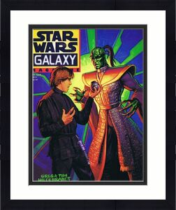 ORIGINAL Vintage Fall 1996 Star Wars Galaxy Magazine #9 Luke Skywalker