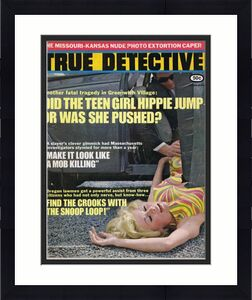 ORIGINAL Vintage January 1969 True Detective Magazine GGA