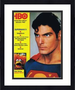 ORIGINAL Vintage January 1983 HBO Magazine Superman II Fraggle Rock PREMIERE