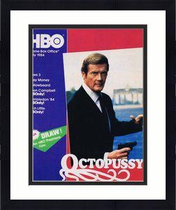 ORIGINAL Vintage July 1984 HBO Magazine Octopussy James Bond Roger Moore