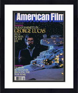ORIGINAL Vintage June 1983 American Film Magazine George Lucas Star Wars