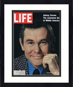 ORIGINAL Vintage Life Magazine January 23 1970 Johnny Carson Tonight Show