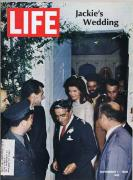 ORIGINAL Vintage Life Magazine November 1 1968 Jackie Kennedy Onassis Wedding