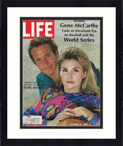 ORIGINAL Vintage Life Magazine October 18 1968 Paul Newman