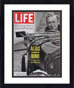 ORIGINAL Vintage Life Magazine October 7 1967 Ian Fleming James Bond