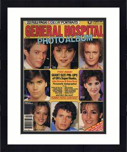 ORIGINAL Vintage March 1983 General Hospital Photo Album Magazine John Stamos