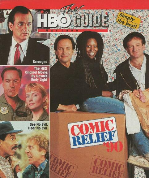 ORIGINAL Vintage May 1990 HBO Guide Magazine Comic Relief Ghostbusters II
