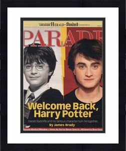 ORIGINAL Vintage May 23 2004 Parade Magazine Daniel Radcliffe Harry Potter