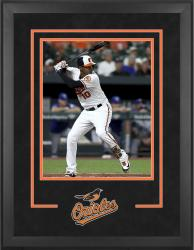 "Baltimore Orioles Deluxe 16"" x 20"" Vertical Photograph Frame - Mounted Memories"