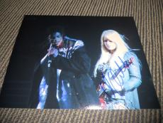 Orionthi Michael Jackson Guitarist Signed Autograph 8x10 Photo PSA Guarantee #4