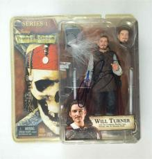 Orlando Bloom Pirates Caribbean Autographed Signed Action Figure PSA/DNA AFTAL