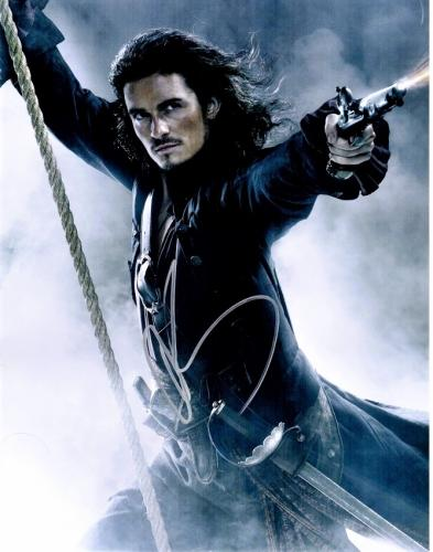 Orlando Bloom Signed - Autographed Pirates of the Caribbean 11x14 inch Photo - Guaranteed to pass PSA or JSA
