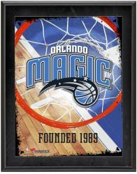 "Orlando Magic Team Logo Sublimated 10.5"" x 13"" Plaque"