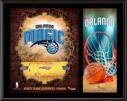 "Orlando Magic Sublimated 12"" x 15"" Team Logo Plaque"