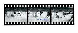 Bobby Orr Boston Bruins Autographed 10'' x 30'' The Goal Film Strip Photograph - Mounted Memories  - Mounted Memories