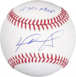 David Ortiz Autographed Baseball - 2013 WS MVP