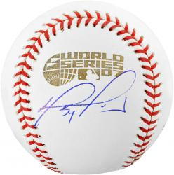 David Ortiz Boston Red Sox 2007 World Series Autographed Baseball