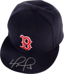 David Ortiz Autographed Boston Red Sox Hat