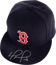 David Ortiz Autographed Boston Red Sox Hat