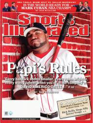 David Ortiz Boston Red Sox Autographed Papi's Rule Sports Illustrated Magazine - Mounted Memories