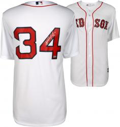 David Ortiz Boston Red Sox Autographed Home Majestic Replica Jersey