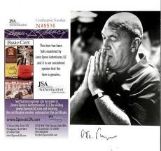 Otto Preminger Director Signed Postcard (deceased) Jsa Authenticated Coa #n45516