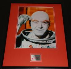 Otto Preminger Signed Framed 16x20 Photo Display JSA Batman