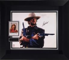 Outlaw Josey Wales Clint Eastwood Signed 16x20 Photo Framed