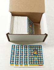 Over (125) 1982 Fleer Super Pac-Man Rub-Off Game Cards (unscratched) ^ Avg Nm/Mt