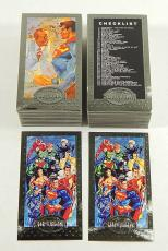 Over (200) 1994 Skybox Superman Platinum Premium Edition Trading Cards Nm/Mt