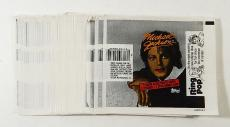 Over (60) 1984 Topps Michael Jackson Trading Cards Wax Pack Wrappers